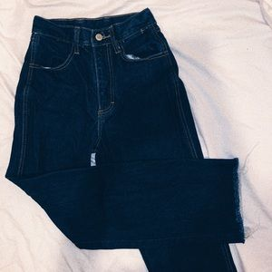 brandy melville straight leg jeans